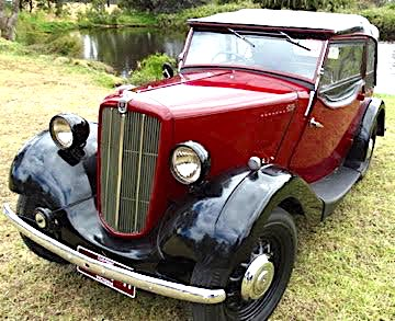 Morris series II tourer 1938