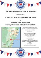 Annual Show and Shine 2021