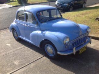 For sale Morris Minor 1962