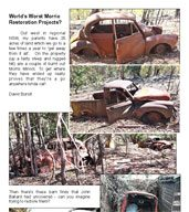 Morris Minor Barn Finds